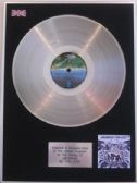 THIN LIZZY  -  LP Platinum Disc   - JAILBREAK